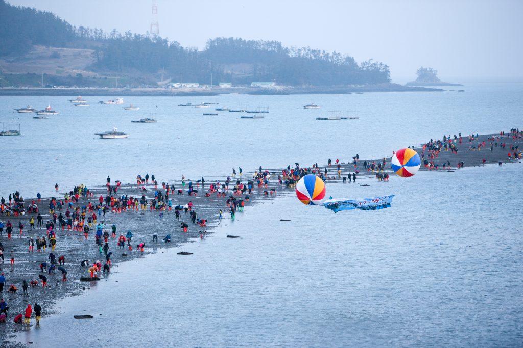 珍島海割れ祭り (2)